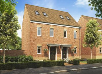 "Thumbnail 3 bed terraced house for sale in ""The Moseley"" at Villa Road, Stanway, Colchester"