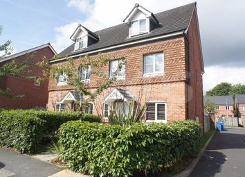 Thumbnail 4 bed semi-detached house to rent in Rylands Drive, Carrington Park, Warrington