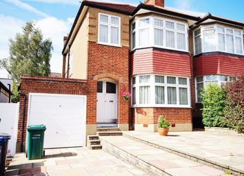 Thumbnail 3 bed semi-detached house to rent in Monkfrith Way, Southgate