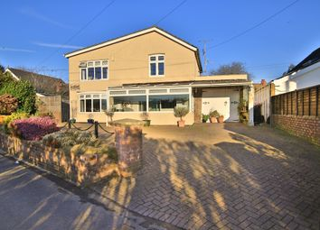 Thumbnail 4 bed detached house for sale in Church Lane, Coedkernew, Newport