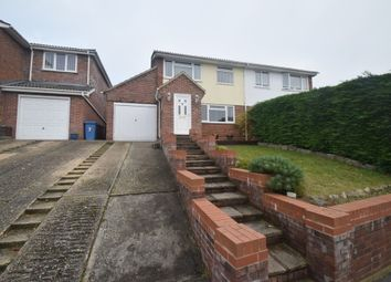 Thumbnail 3 bed semi-detached house for sale in Woodthorpe Road, Hadleigh, Ipswich