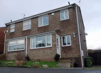 Thumbnail 3 bed semi-detached house for sale in Lindisfarne, Peterlee