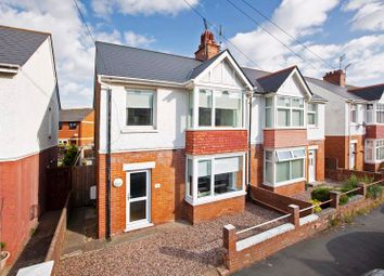 3 bed semi-detached house for sale in Park Road, Exmouth EX8