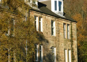 Thumbnail 1 bed flat to rent in Dumbarton Road, Bowling, Glasgow