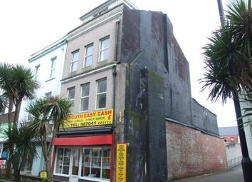 Thumbnail Commercial property for sale in Marlborough Street, Devonport, Plymouth