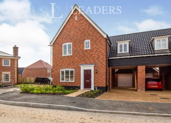 Thumbnail 3 bed semi-detached house to rent in Hornbeam Road, Saxmundham