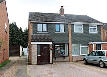 Thumbnail 3 bed semi-detached house for sale in Monarch Drive, Worcester