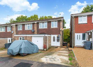 Thumbnail 4 bed semi-detached house for sale in Wren Close, Heathfield