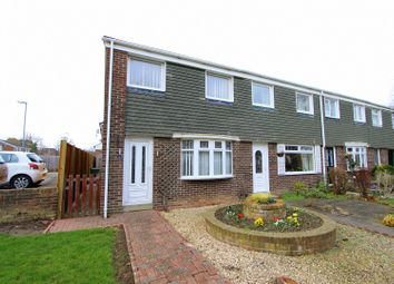 Thumbnail 3 bed end terrace house to rent in Dalmuir Close, Eaglescliffe, Stockton-On-Tees