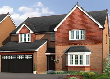 "Thumbnail 5 bedroom detached house for sale in ""Lincoln"" at Boundary Park, Parkgate, Neston"