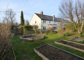 Thumbnail 4 bed semi-detached house for sale in Malmesbury Road, Leigh, Swindon