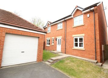 Thumbnail 4 bed detached house for sale in Sewell Court, Crook