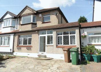 Thumbnail 4 bed semi-detached house to rent in Florian Avenue, Sutton, Surrey