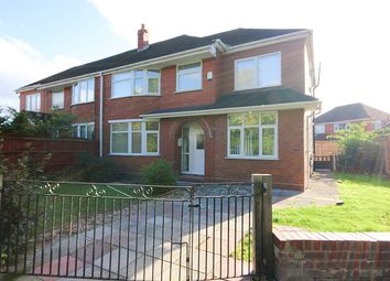 Thumbnail 5 bed semi-detached house to rent in Ealing Road, Great Sankey, Warrington