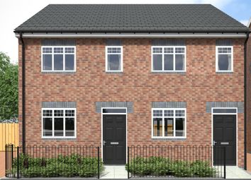 Thumbnail 2 bed semi-detached house for sale in Aaron Manby Court, High Street, Princes End, Tipton