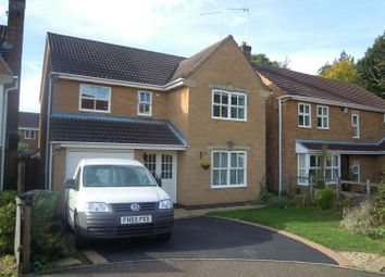 Thumbnail 4 bed detached house to rent in Teanby Court, Bretton, Peterborough