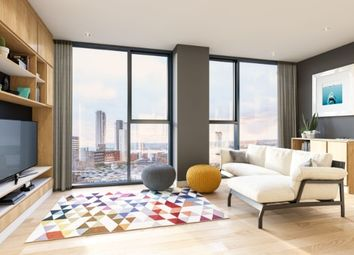 Thumbnail 1 bed flat for sale in Sir Matt Busby Way, Manchester