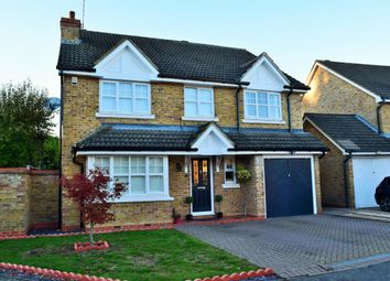 Thumbnail 4 bed detached house for sale in Darracott Close, Camberley