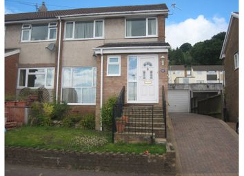 Thumbnail 3 bed semi-detached house for sale in St. Augustine Road, Pontypool