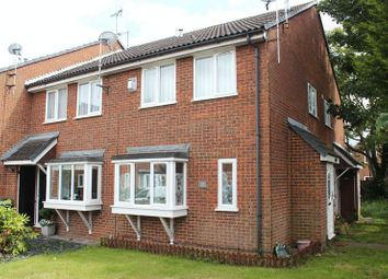 Thumbnail 1 bed terraced house to rent in Bramley Close, Staines