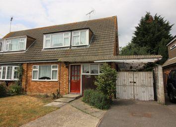 Thumbnail 3 bed semi-detached house for sale in Assandune Close, Ashingdon