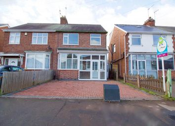Thumbnail 3 bed semi-detached house for sale in Gleneagles Avenue, Belgrave, Leicester