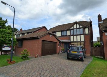 Thumbnail 4 bed detached house for sale in Leominster Drive, Oakwood, Derby