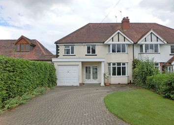 Thumbnail 5 bed semi-detached house for sale in Station Road, Wythall, Birmingham