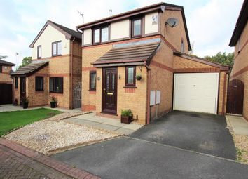 Thumbnail 3 bed detached house for sale in Fieldside Close, Lostock Hall, Preston