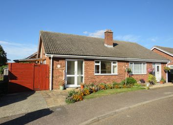 Thumbnail 2 bed semi-detached bungalow for sale in Orchard Way, Banham, Norwich