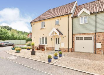 Thumbnail 3 bed terraced house for sale in Larks Place, Dereham