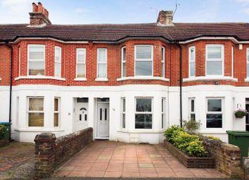 Thumbnail 3 bed terraced house for sale in Manor Road, East Preston, Littlehampton