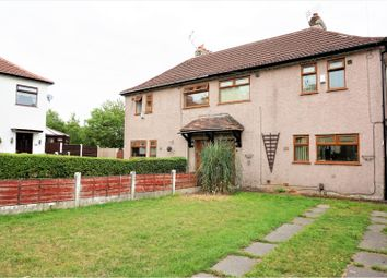 Thumbnail 3 bed semi-detached house for sale in Nevin Road, Manchester