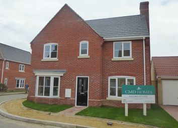 Thumbnail 4 bedroom detached house for sale in Sayers Crescent, Wisbech St. Mary, Wisbech