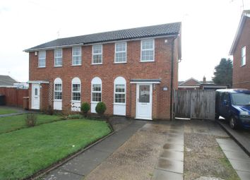 Thumbnail Semi-detached house to rent in The Ridgeway, Burbage, Hinckley