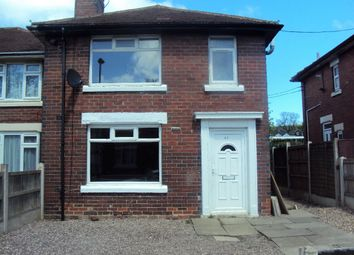 Thumbnail 3 bed semi-detached house to rent in Langford Road, Bucknall, Stoke-On-Trent