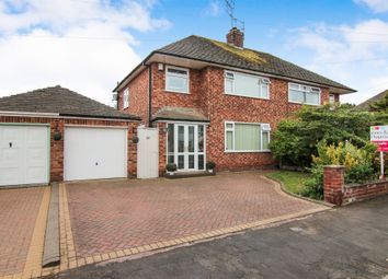 Thumbnail 3 bed semi-detached house for sale in Escolme Drive, Greasby, Wirral