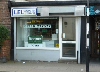 Thumbnail Commercial property to let in 4, The Green, Hasland, Chesterfield