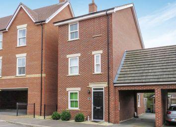 Thumbnail 4 bed link-detached house for sale in Fletton Dell, Woburn Sands, Milton Keynes