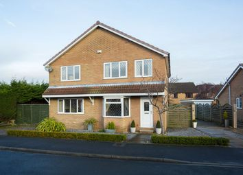 Thumbnail 4 bed detached house for sale in Wheatcroft, Strensall, York