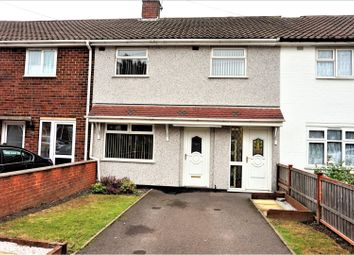 Thumbnail 3 bedroom terraced house for sale in Gill Street, West Bromwich