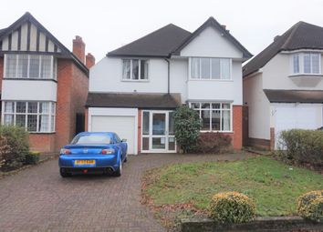 Thumbnail 4 bedroom detached house for sale in Halton Road, Boldmere, Sutton Coldfield