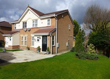 Thumbnail 3 bed semi-detached house for sale in Ballantyne Way, Lowton, Warrington
