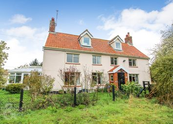 Thumbnail 4 bed detached house for sale in Low Road, Billingford, Diss