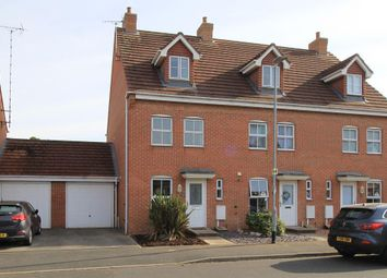 Thumbnail 3 bed town house to rent in Glover Road, Castle Donington