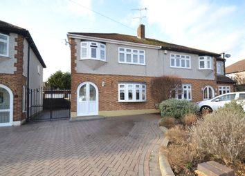 Thumbnail 3 bed semi-detached house for sale in Clyde Way, Romford
