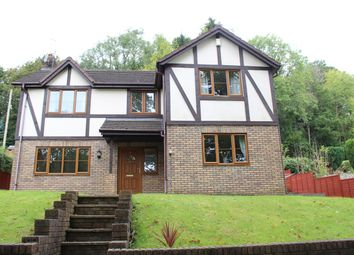 Thumbnail 4 bed detached house for sale in Lodge View, Pontnewynydd, Pontypool