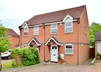 Thumbnail 2 bedroom semi-detached house for sale in Swallow Close, Oxford