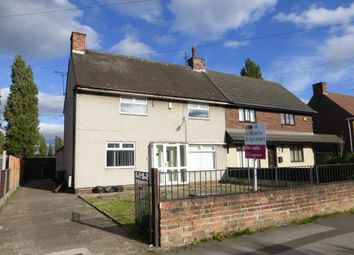Thumbnail 3 bed semi-detached house for sale in Cemetery Road, Scunthorpe