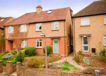 Thumbnail 4 bed semi-detached house for sale in Church Lane, Mill End, Rickmansworth